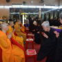 78th Anniversary at The Buddhist UNion- Offering of Dana to the Sangha Members