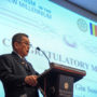 BuddhistUnion-WFB-International-Forum-2017-Dato Tan Gin Soon, Vice-President of WFB delivering the Congratulatory Message from the WFB President