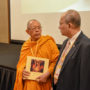 BuddhistUnion-WFB-International-Forum-2017-Dr Phallop Thaiarry (Gen-Secretary of WFB) with Bhikkhu Sukhemo of Indonesia