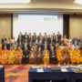 BuddhistUnion-WFB-International-Forum-2017-Group Photo of the WFB delegates at the Forum held at the Mandarin Orchard Hotel, Singapore