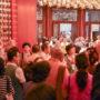 BuddhistUnion-WFB-International-Forum-2017-Delegates visiting the Buddha Tooth Relic Temple