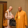 BuddhistUnion-WFB-International-Forum-2017-Ven Chao Chu (right) from USA with Ven Chang Qing from Singapore