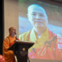 BuddhistUnion-WFB-International-Forum-2017-Ven Dayi Shi from Cham Shan Temple of Canada delivering his keynote speech