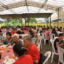 .CNY_OfferingToHeaven_The devotees and friends having vegetarian lunch