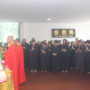Thanksgiving_Day-Offering to the Buddha and Bodhisattvas at the altar of the 2nd storey