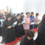Thanksgiving_Day-Some of the devotees reciting the sutra