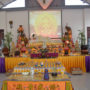 Thanksgiving_Day-The altar at the 3rd storey of the BU Dharma Centre at Lowland Road