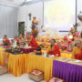 Thanksgiving_Day-The monks leading the Dharma Function
