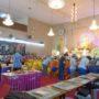 VenDhammasukha_Anniversary-Devotees offering dana to monks