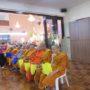 VenDhammasukha_Anniversary-Members and devotees offering dana to the monks