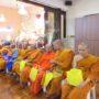 VenDhammasukha_Anniversary-Members of the Sangha at the Shrine Hall