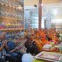 VenDhammasukha_Anniversary-Tan Tiong Huat (left) and Ven Bao Tong (fourth from left) offer prayers to Ven Dhammasukha