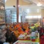 VenDhammasukha_Anniversary-The Sangha and devotees reciting the sutra at the Memorial Hall