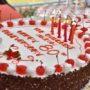 80th_Anniversary -Anniversary Cake
