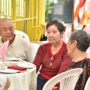 80th_Anniversary -Mr Gordon Ung (left) talking to some of our older BU members