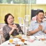80th_Anniversary -Mr Ong Seh Hong (right) singing a song together with another guest