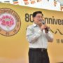 80th_Anniversary -Mr Yeo Guat Kwang was invited to sing a song
