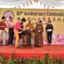 80th_Anniversary -Ms Corina Woo received the cheque from Ven Bao Shi on behalf of the Sakyadhita-NKF Dialysis Centre