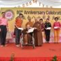 80th_Anniversary -Representative from IMH Charity Fund receiving the cheque from Ven Bao Shi