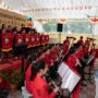 80th_Anniversary -Students from the Maha Bodhi School Symphony Band giving their performance during the Anniversary Celebration