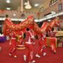 80th_Anniversary -The Lion and Dragon Dance performance by students of Maha Bodhi School at our Main Shrine Hall