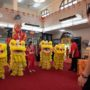80th_Anniversary -The Maha Bodhi School Lion and Dragon Dance Troupe welcoming the VIP's to the Anniversary Celebration