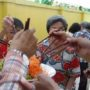 80th_Anniversary -Happily tossing for good health and prosperity during the Anniversary Celebration