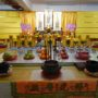 Ullambana_2018 – A temporary altar was set up at the basement carpark of the Dhammasukha Memorial Hall during the Lunar 7th month Festival