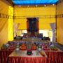 Ullambana_2018 – A temporary altar was set up outside the Main Shrine during the Dharma Function
